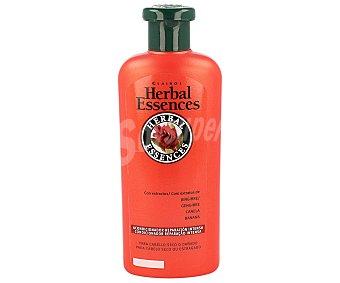 HERBAL ESSENCES Acondicionador Reparación Intensa con extractos de Jengibre Canela y Banana para cabello seco o dañado frasco 400 ml