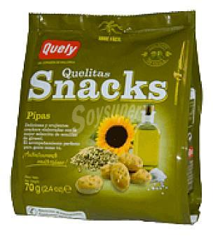 Quelitas Snacks pipas 70 g