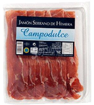 Campodulce Jamon serrano hembra lonchas 120 g