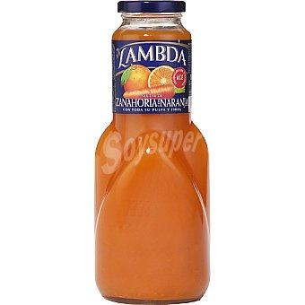Lambda Néctar de zanahoria y naranja botella 1 l 1 l