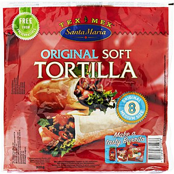 Santa Maria Tortillas de trigo Envase 320 g