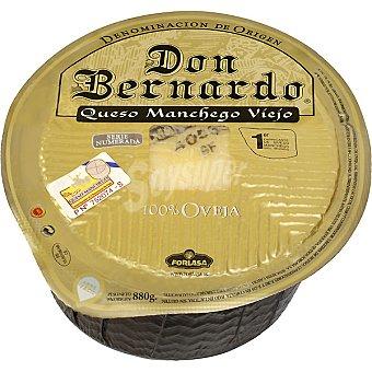 Don Bernardo Oro Queso manchego viejo de oveja con D.O.  Pieza 880 g