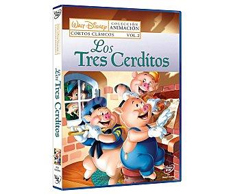 Disney Los tres cerditos Cortos clásicos vol. 2  1 unidad