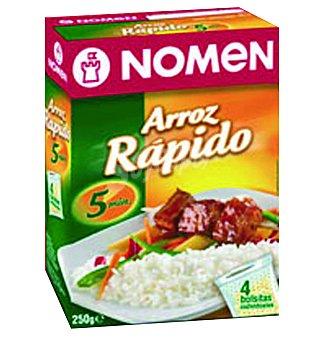 NOMEN arroz de cocción rápida  caja 250 g