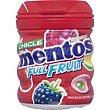 Chicle de frutos rojos sin azúcar bote 60 g Mentos