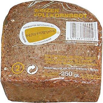 Naturpan pan integral de trigo natural Envase 250 g