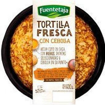 Fuentetaja Tortilla fresca de patatas con cebolla 600g