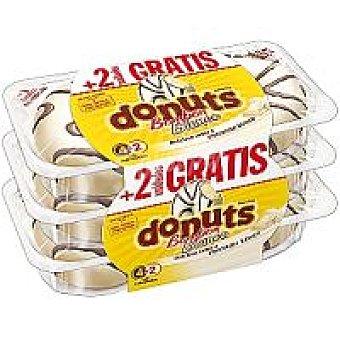 Blanco Donuts Bombón Paquete 4 unidades + 50%
