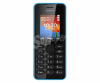 NOKIA 108 DUAL SIM Teléfono móvil libre