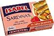 Sardinas en salsa picantona con guindilla Lata 81 g peso neto escurrido Isabel