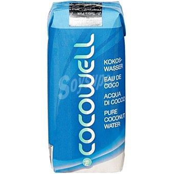 COCOWELL Agua de coco Envase 330 g