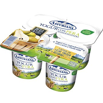 Central Lechera Asturiana Yogur con pera Pack 4x125 g