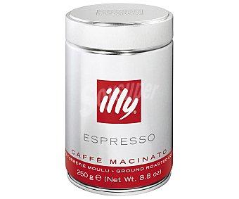 ILLY Cafe natural molido espresso Lata 250 g