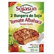 Hamburguesa tomate albahaca Pack de 2x100 g Sojasun