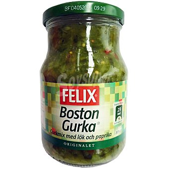 Felix Purina Pepinillos picados Boston Frasco 375 g