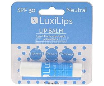 Luxilips Protector labial con factor de protección 30 luxilips