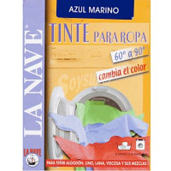 La Nave Tinte ropa azul Pack 2x20 g