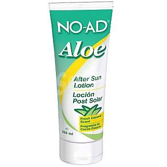 NO-AD After sun loción Aloe para después del sol fragancia de cocos frescos Tubo 250 ml
