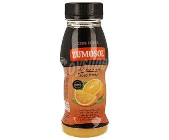 Zumosol Zumo de naranja exprimida con pulpa PET 200 ml