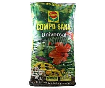 Compo Sustrato universal para plantas de interior y exterior 50 litros