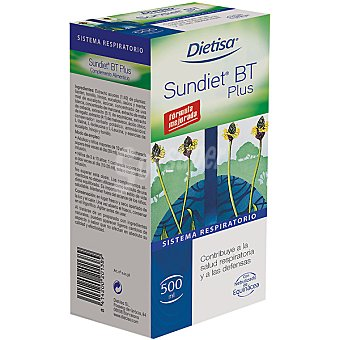 DIETISA Sundiet Bt Plus Sistema respiratorio contribuye a la salud y las defensas Bote 250 ml