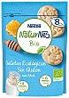 Galletas ecológicas con miel y sin gluten +8 meses BIO Caja 150 g Naturnes Nestlé