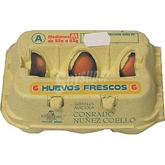 CONRADO NUÑEZ COELLO Huevos clase M Estuche 6 unidades