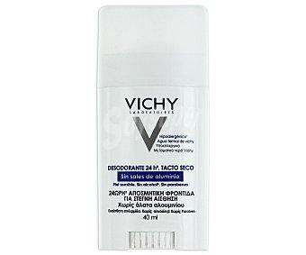 Vichy Desodorante 24h sin sales de alumninio para piel sensible y reactiva transpiración normal Stick 40 ml