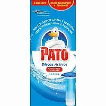 Pato Discos recambio marine single pack 1 unid