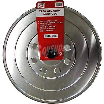 TECNHOGAR Tapa de aluminio multiuso de 36 cm 1 unidad