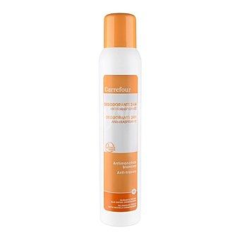 Carrefour Desodorante 24h antitranspirante y antimanchas blancas 200 ml