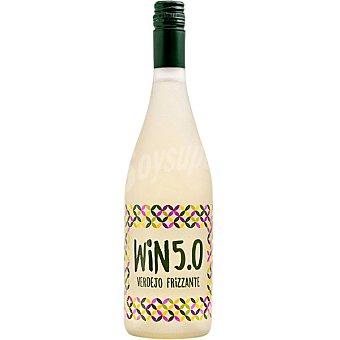 WIN 5.0 Vino blanco frizzante bajo en alcohol Botella 75 cl
