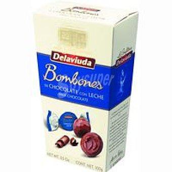 Delaviuda Trufas de chocolate con leche Caja 100 g