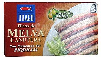 Ubago/Marina Melva canutera filete aceite oliva Lata 90 g escurrido