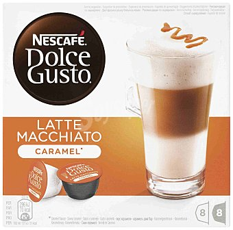 Dolce Gusto Nescafé Espresso Caramel 16 cápsulas