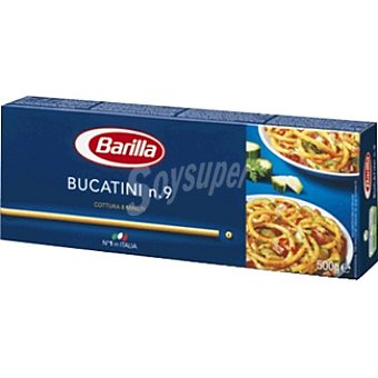 Barilla pasta bucatini nº9 caja 500 g