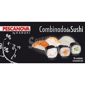 Pescanova Combinado estuche sushi 10 unidades (185 g)