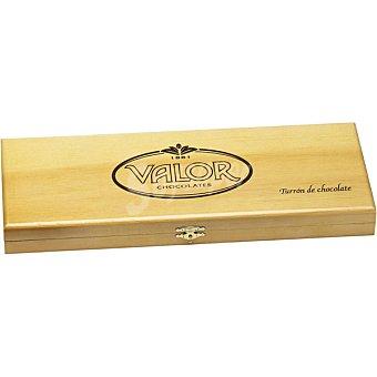 Valor Turrón de chocolate especial caja de madera estuche 500 g Estuche 500 g