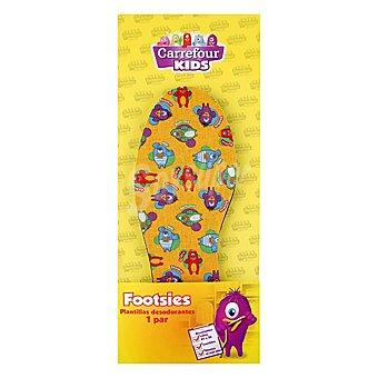 Carrefour Kids Plantillas desodorantes warner 1 par 1 ud