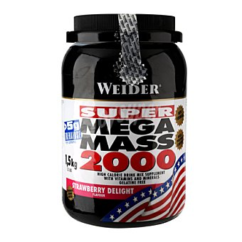 WEIDER Super Mega Mass 2000 fresa 1,5 kg