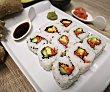 Sushi rellenos de diferentes vegetales 9 uds SUSHI GOURMET