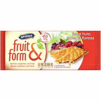 McVities Fruit&form de frutas del bosque Caja 195 g