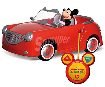 Disney Coche radiocontrol preescolar Mickey Club House 1 unidad
