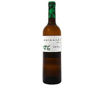 REUTILIZADA Vino Blanco Sin Alcohol emina Botella 75 Centilitros 75 Centilitros