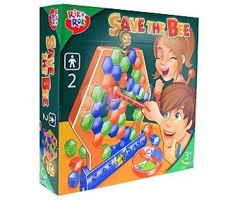 Rik&Rok Auchan Juego de mesa infantil Salva a la abejita, 2 jugadores ROK