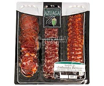 5 BELLOTAS Tabla de Ibéricos: Lomo, Chorizo y Salchichón 140 Gramos