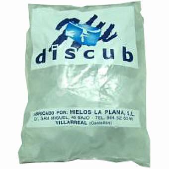 Discub Cubitos de hielo Bolsa 2 kg
