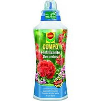Compo Fertilizante para geranio Botella 1 litro