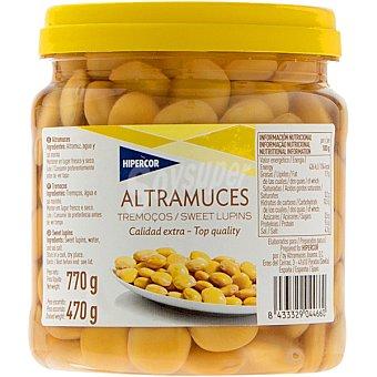 Hipercor Altramuces extra Tarrina 470 g