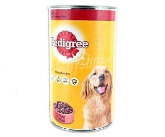 PEDIGREE PAL Paté buey, alimentos para perros Lata de 1200 Gramos
